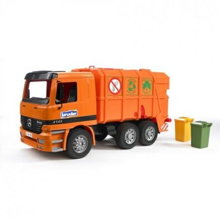 Мусоровоз MB (цвет оранжевый) Bruder (Брудер) (Арт. 01-667 01667)