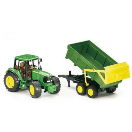 Трактор John Deere 6920 с прицепом Bruder (Брудер) (Арт. 02-058 02058)