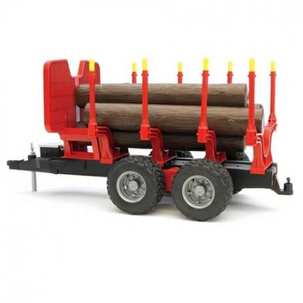 Прицеп для перевозки леса с брёвнами Bruder (Брудер) (Арт. 02-251 02251)