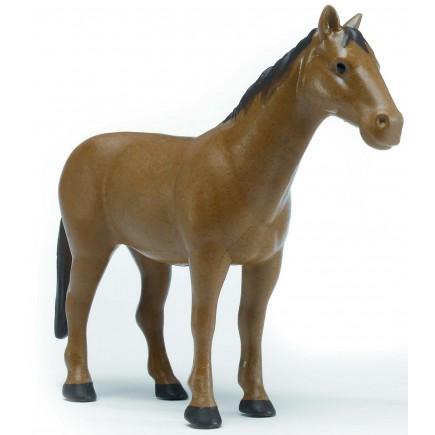 Фигурка лошади Bruder коричневая 02-306