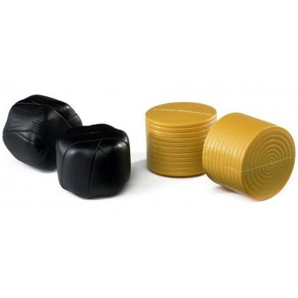 Фигурки рулонов сена Bruder 4 шт (2 упакованных) 02-345