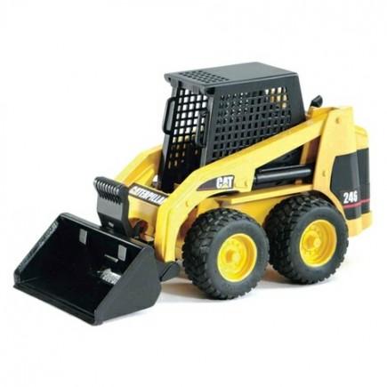 Мини Погрузчик колёсный CAT с ковшом Bruder (Брудер) (Арт. 02-431 02431)