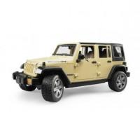 Игрушка джип внедорожник Jeep Wrangler Unlimited Rubicon Bruder 02-525...