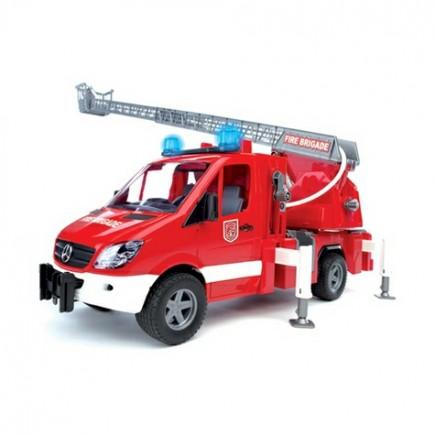 MB Sprinter пожарная машина с лестницей и помпой с модулем со световыми и звуковыми эффектами Bruder (Брудер) (Арт. 02-532 02532)