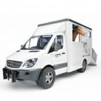 Mercedes Sprinter фургон с лошадью Bruder 02-533