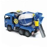 Бетономешалка MAN Bruder 02-744 (цвет сине-серый)