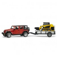 Внедорожник Jeep Wrangler Unlimited Rubicon bruder 02-925