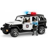 Внедорожник Jeep Wrangler Unlimited Rubicon Полиция с фигуркой 02-526...