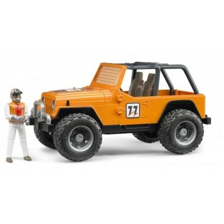 Игрушка джип внедорожник Cross Country Racer Bruder с гонщиком 02-542