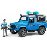 Полицейский джип Bruder Land Rover Defender Station Wagonс фигуркой 02-597...