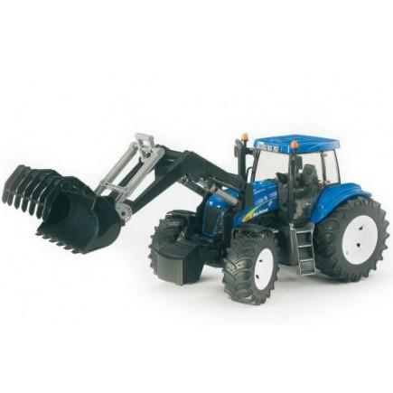 Трактор New Holland T8040 с погрузчиком Bruder (Брудер) (Арт. 03-021 03021)