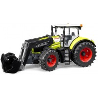 Трактор Claas Axion 950 c погрузчиком Bruder 03-013