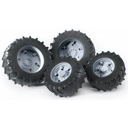Колеса Bruder с серыми дисками к тракторам серии 3000 03-315