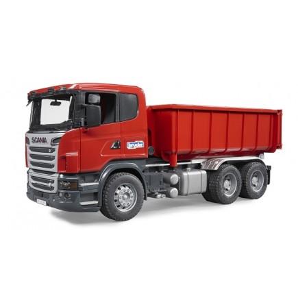 Контейнеровоз Scania с снимающимся контейнером Bruder (брудер) (Арт. 03-522 03522)