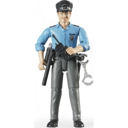 Фигурка полицейского с аксессуарами Bruder 60-050
