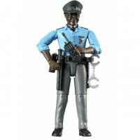 Фигурка африканского полицейского с аксессуарами Bruder 60-051...